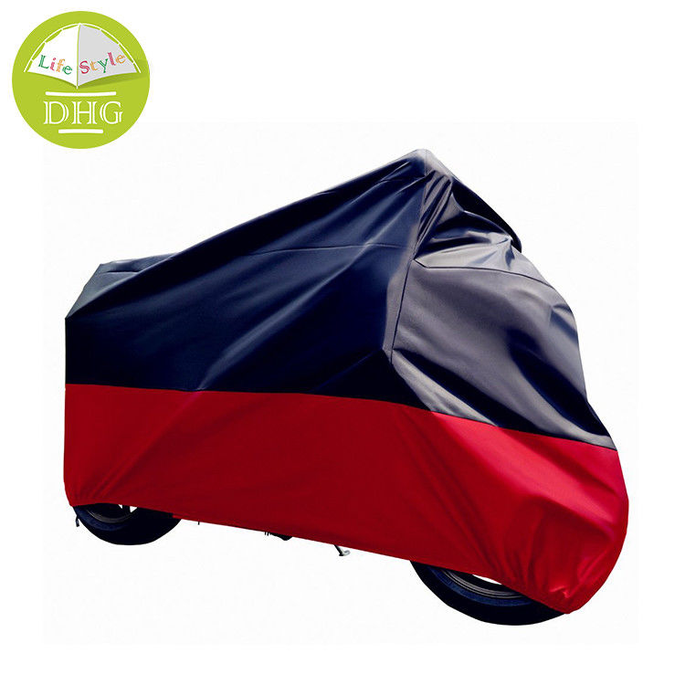 All Weather Waterproof Motorbike Cover Tear Resistant Storm Protector 210D Fabric